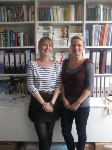 Meike and Maddy of Peirene Press